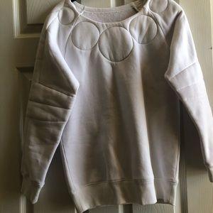 MM6 White Sweatshirt
